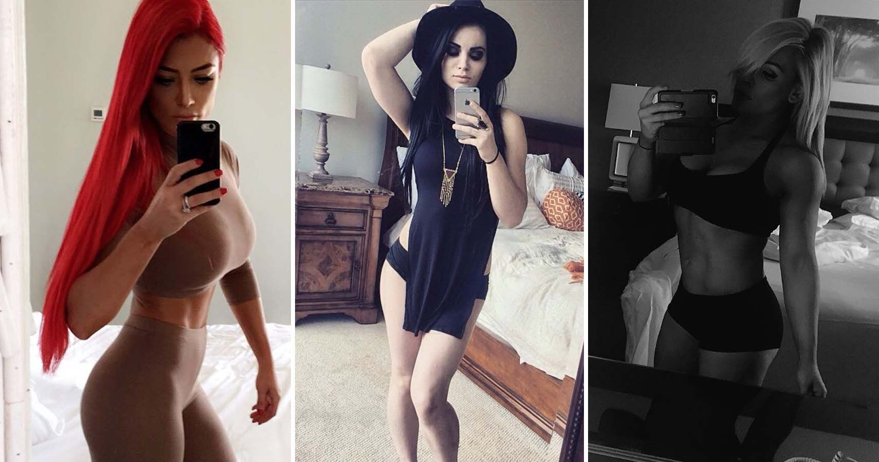 Top 20 Hottest Female Wrestler Selfies
