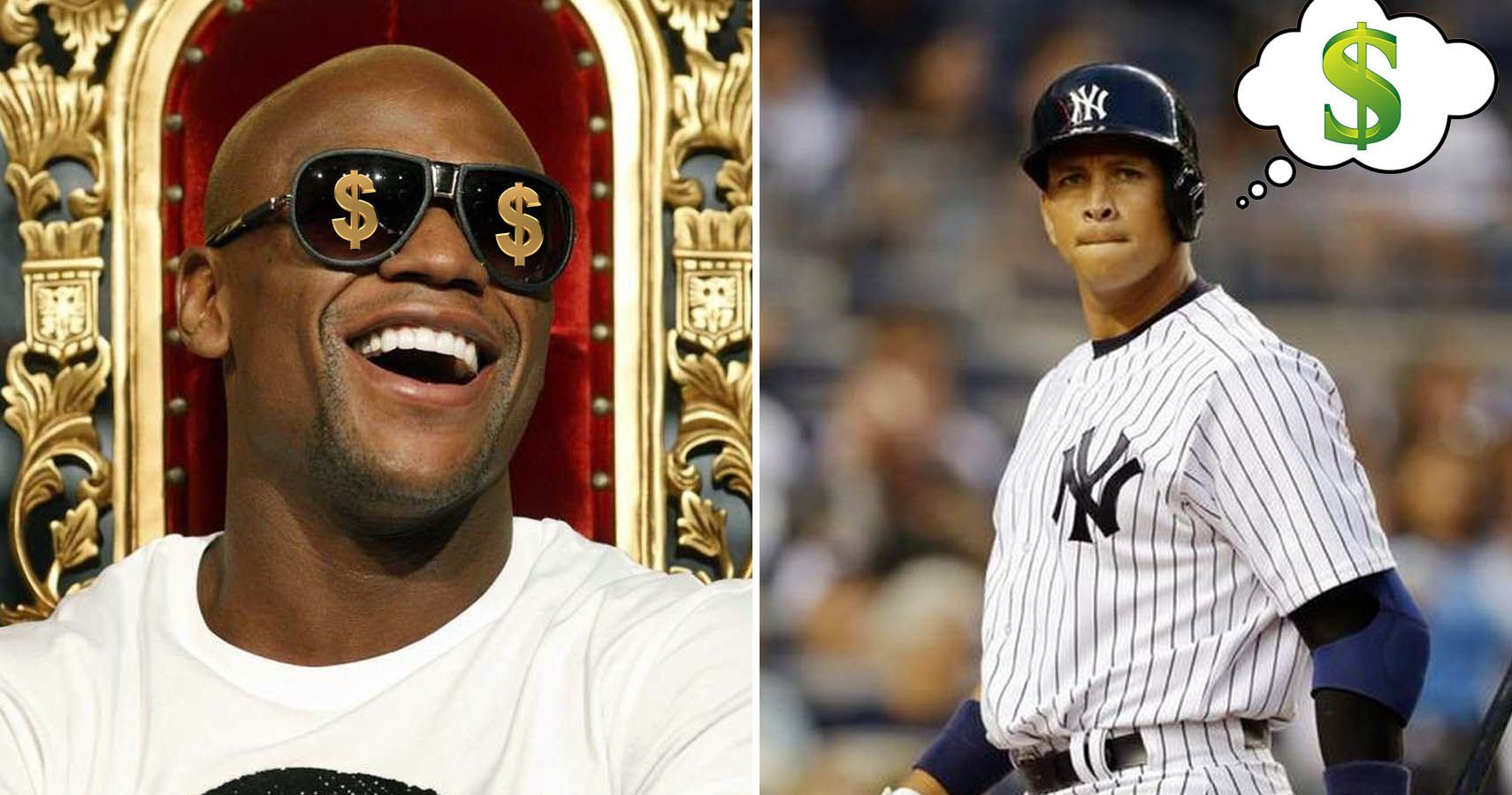 15 Athletes Who Love Money More Than The Game
