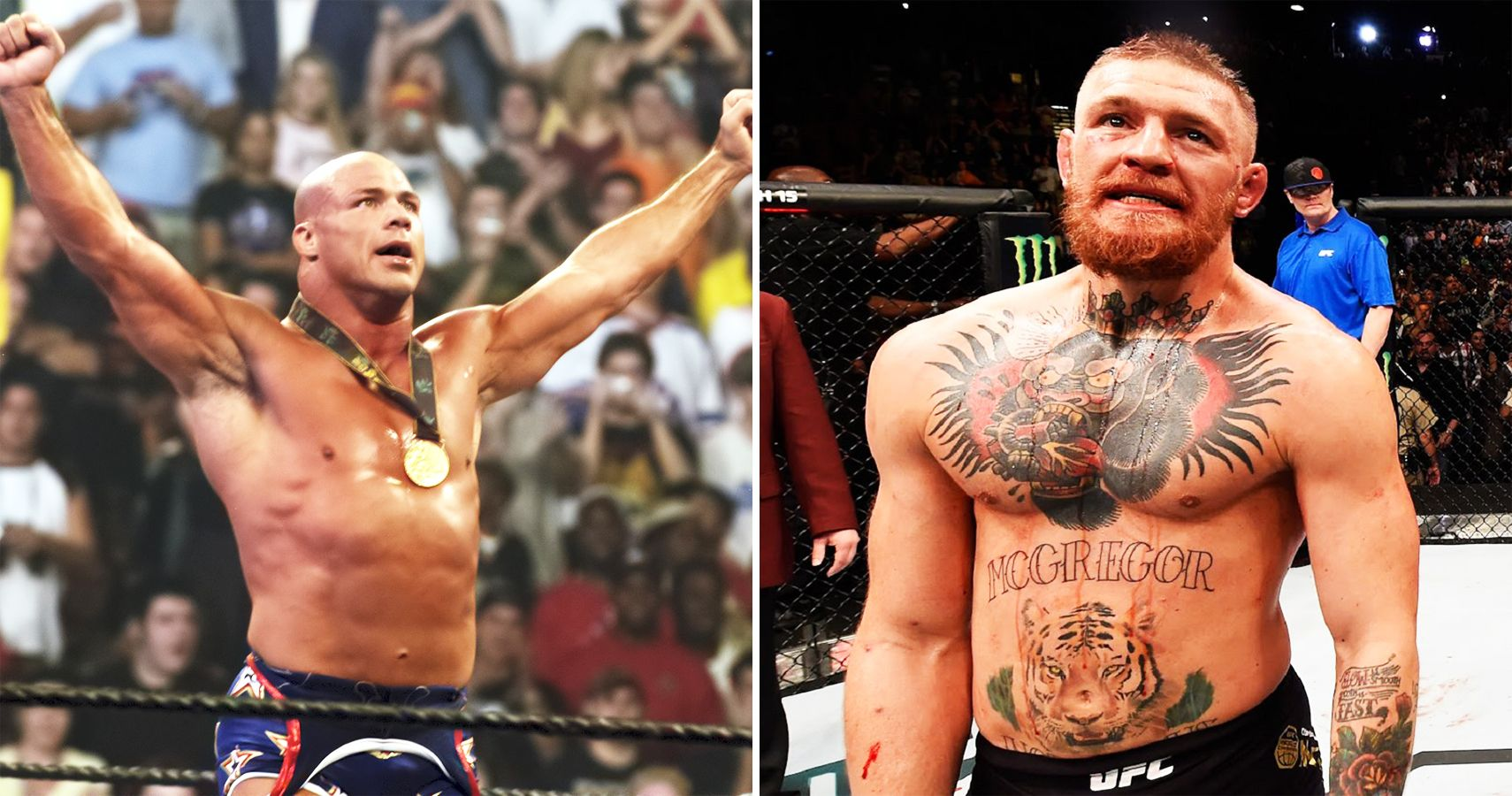 Top 15 Wrestlers That Would've Beaten Conor McGregor In A Real Fight