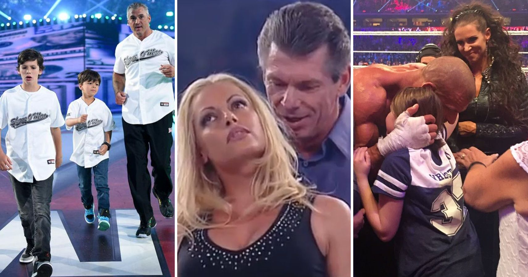 Stephanie and vince mcmahon sex