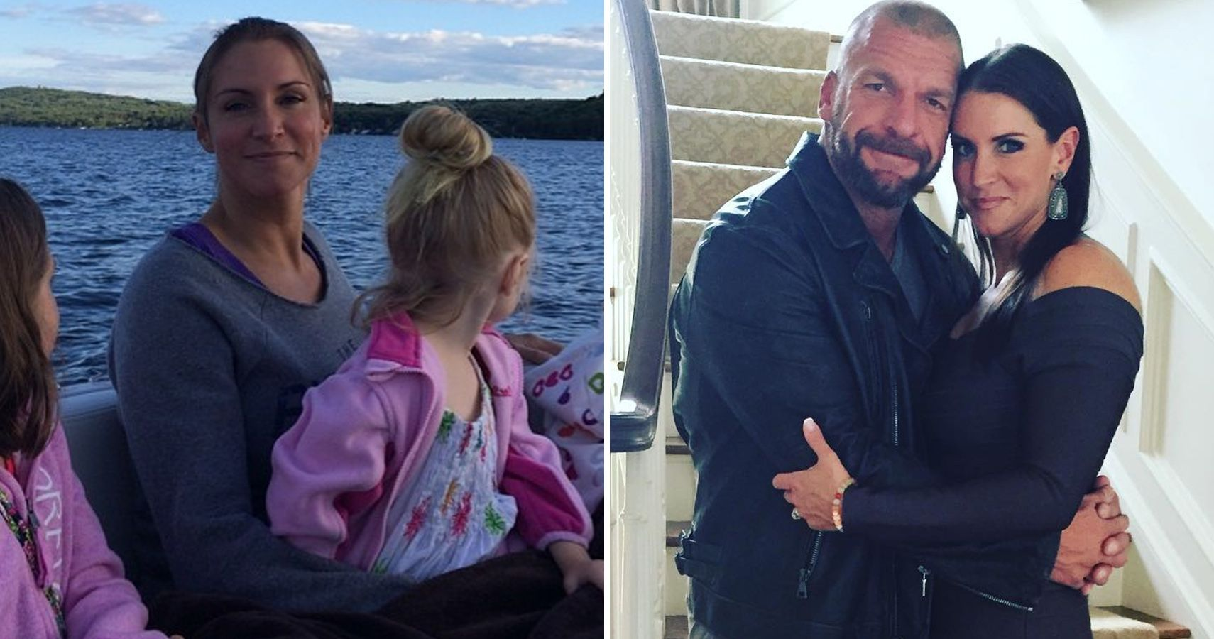 MustSee Personal Pictures Of Triple H And Stephanie McMahon