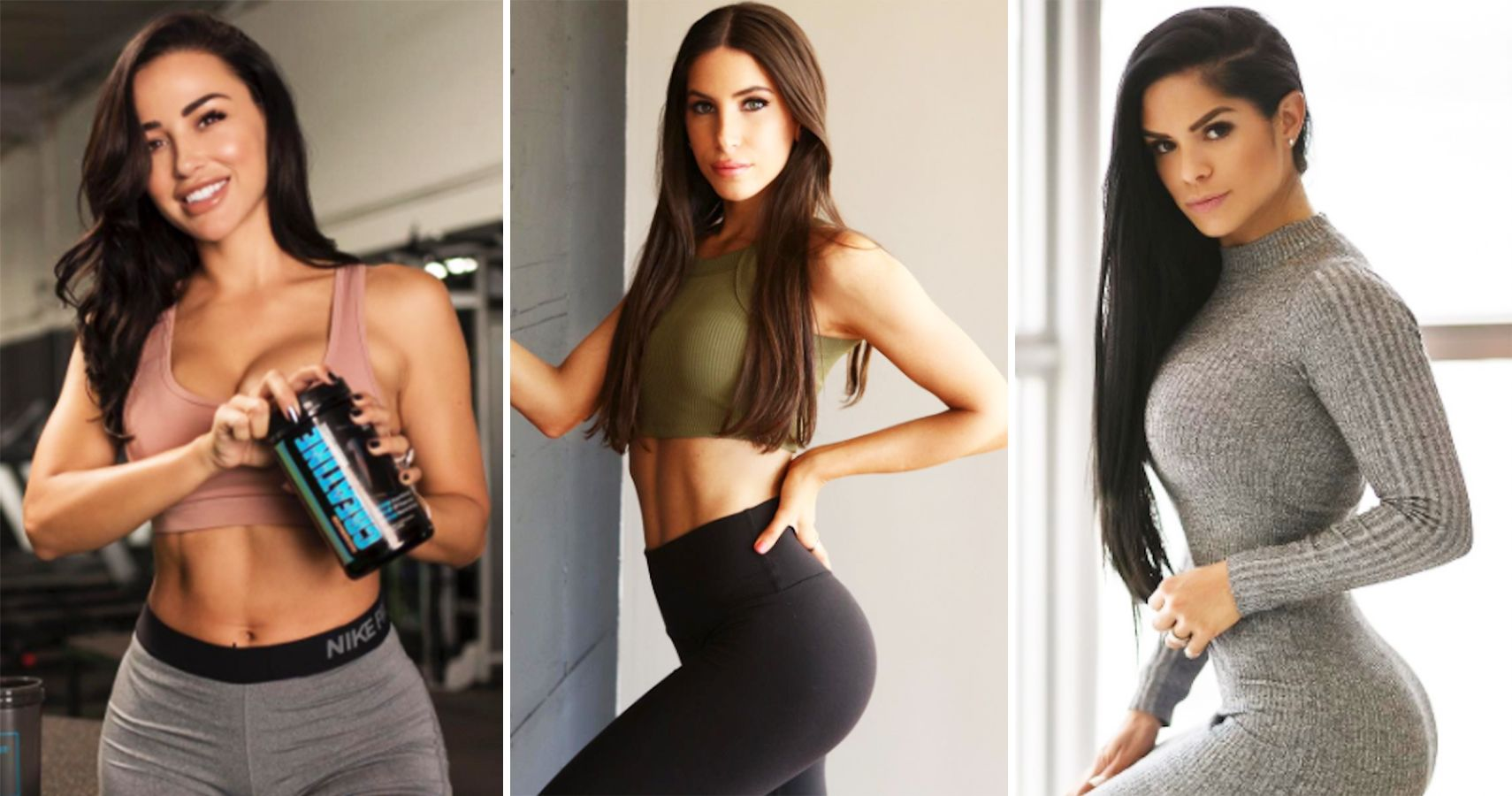 Hot girl with fit body and big boobs Most Stunning Fitness Models That Instagram Has To Offer