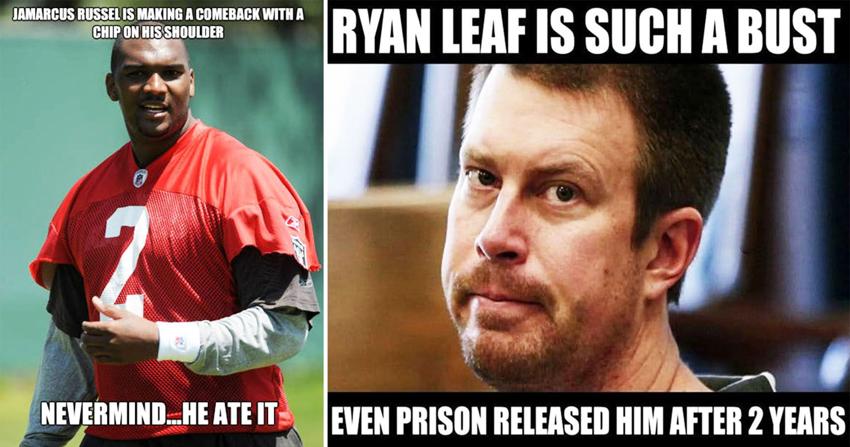 Hilarious Nfl Quarterback Bust Memes Thesportster