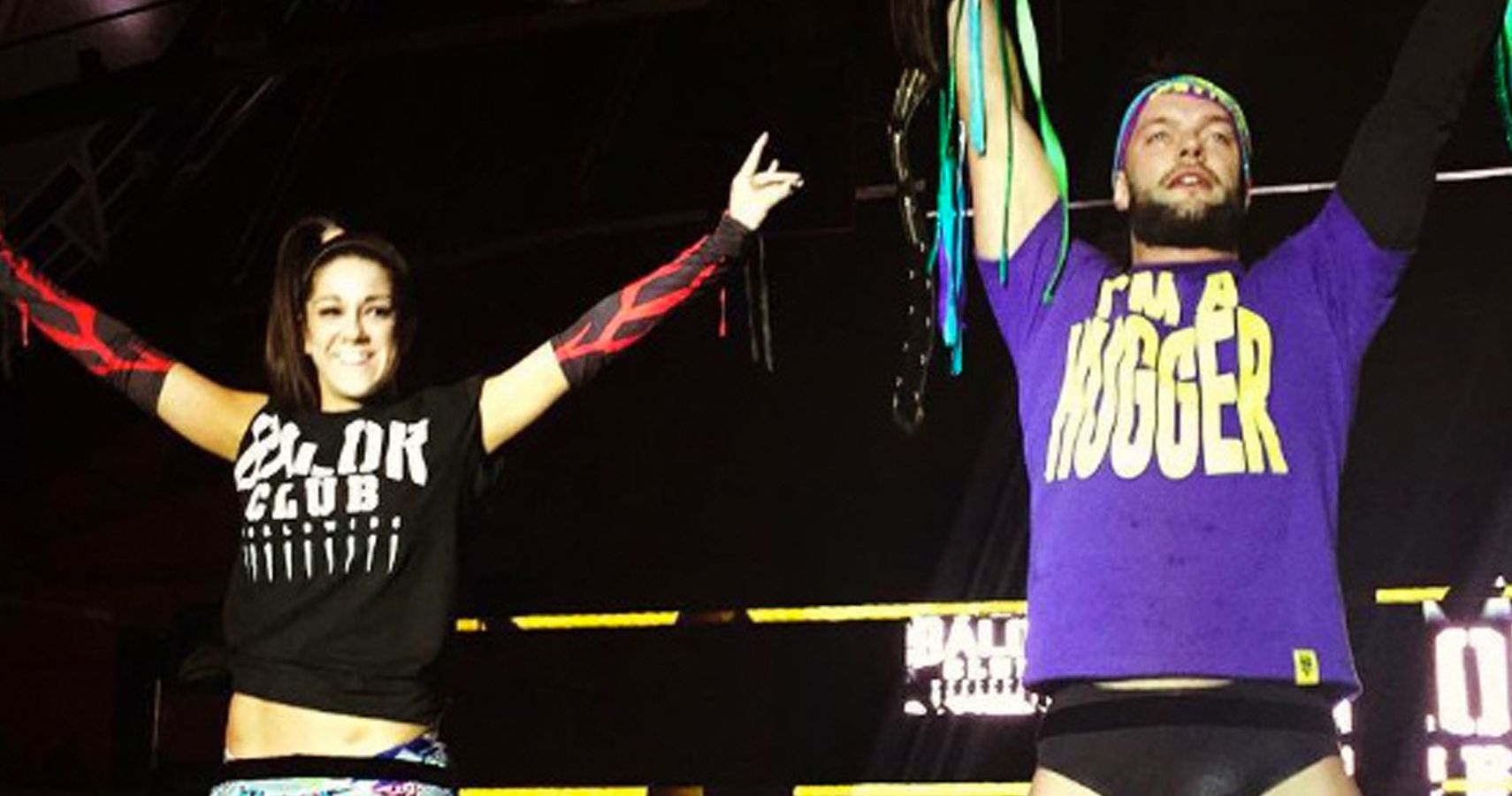 Finn Balor and Bayley Won't Be A Team For The Mixed Match