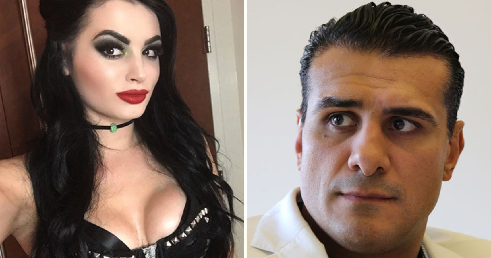 Paige and Del Rio are a couple outside the ring who have been dating.