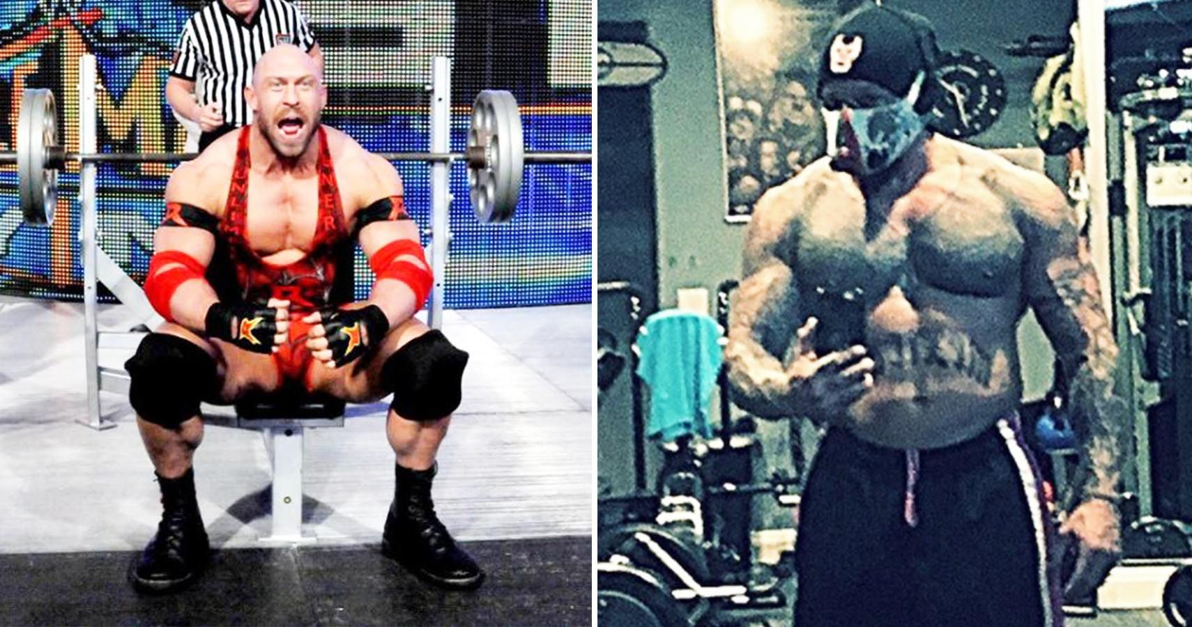 How Much Can These Professional Wrestlers Bench Press