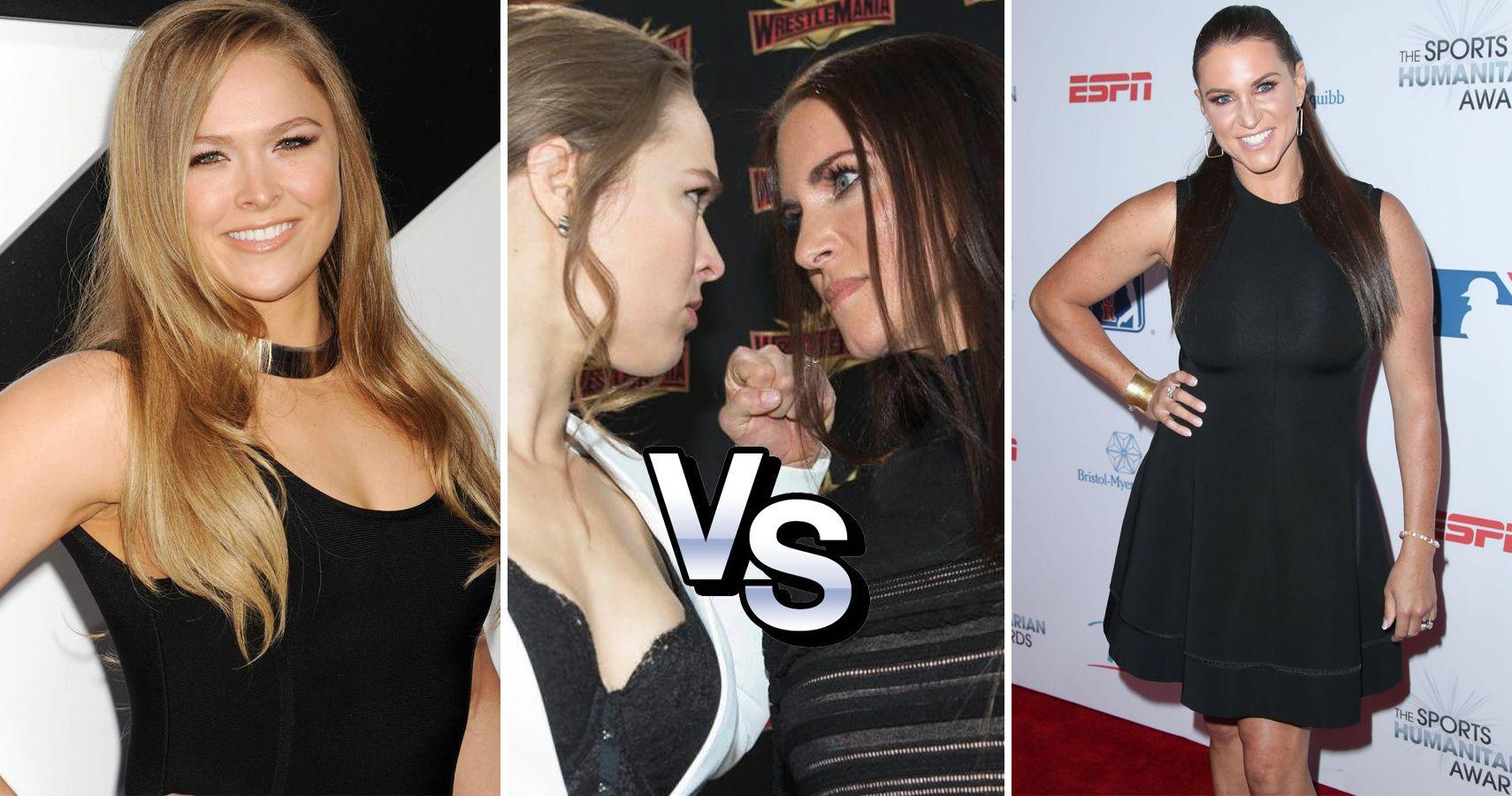 Ronda Rousey Vs Stephanie Mcmahon Whos More Attractive