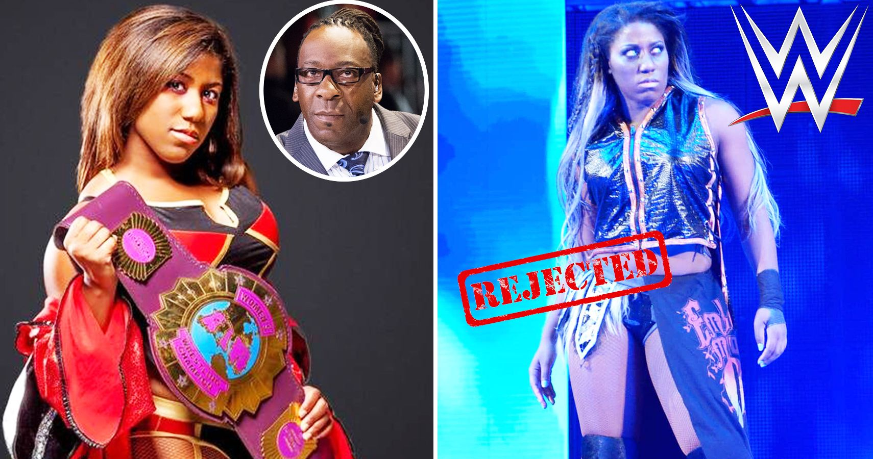 Image result for WWE Booker T and Ember Moon