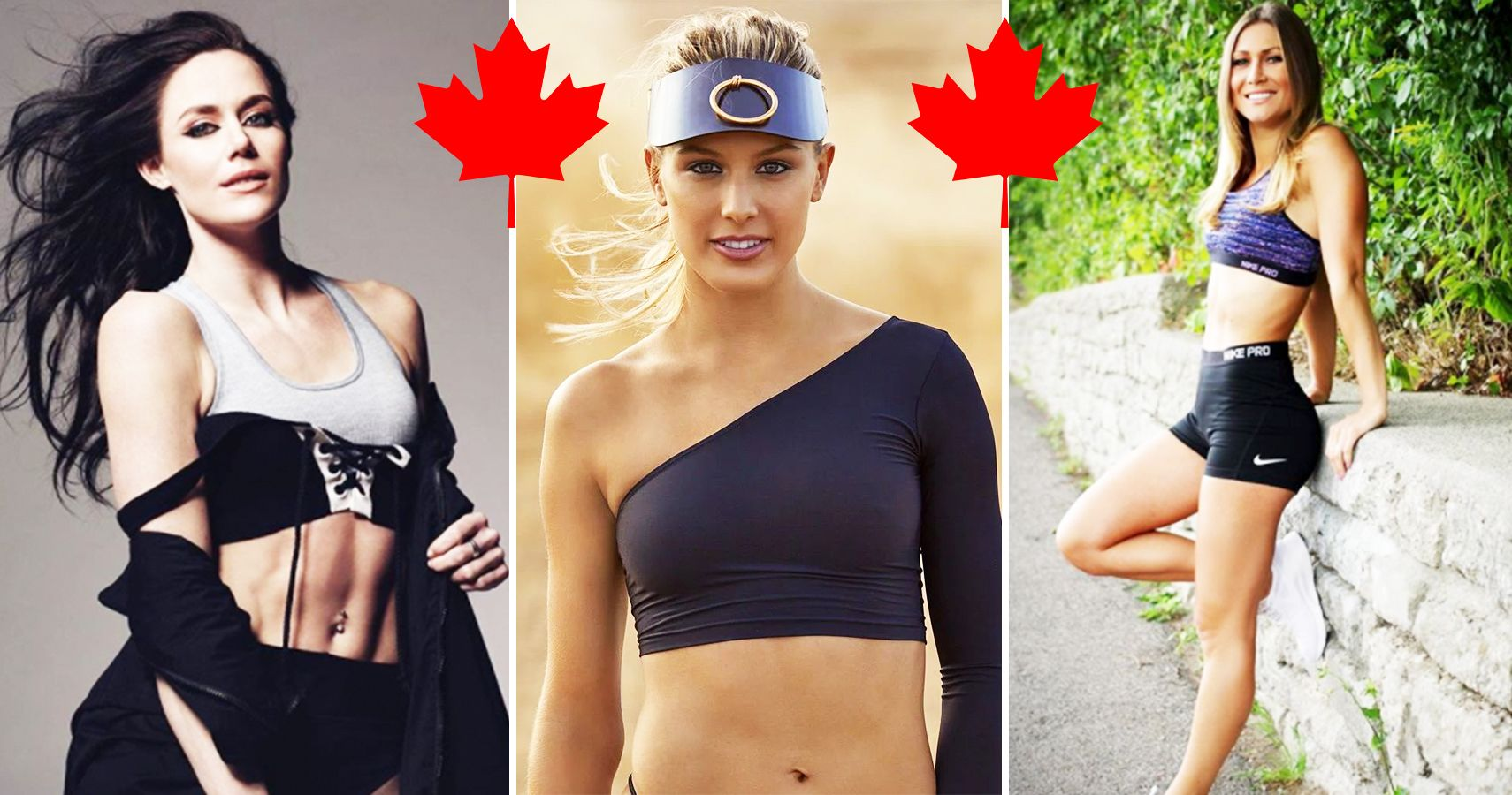 15 Best Looking Canadian Female Athletes And 5 Best Sportscasters