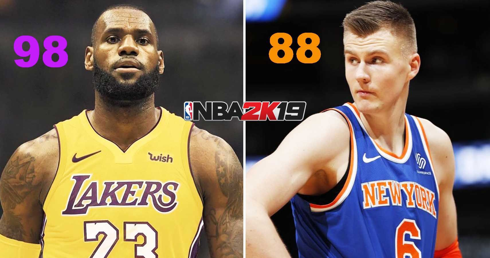 20 NBA 2K19 Ratings That Make Absolutely No Sense (And What They