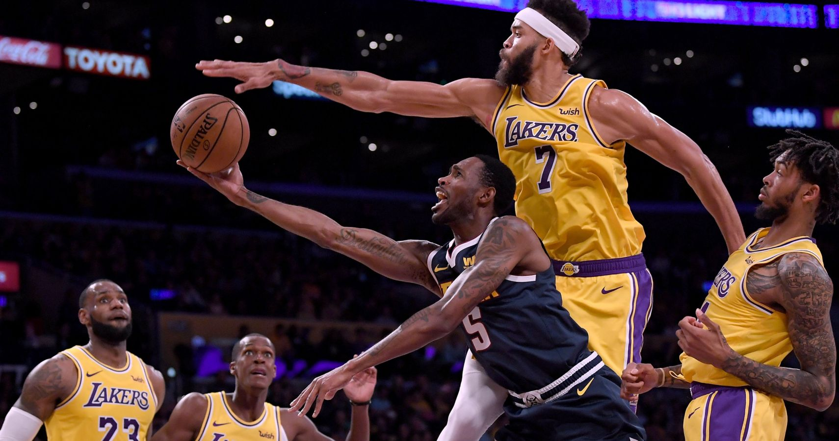 972214810ba LeBron James Thinks JaVale McGee Could Be Best Defensive Player In NBA This  Season