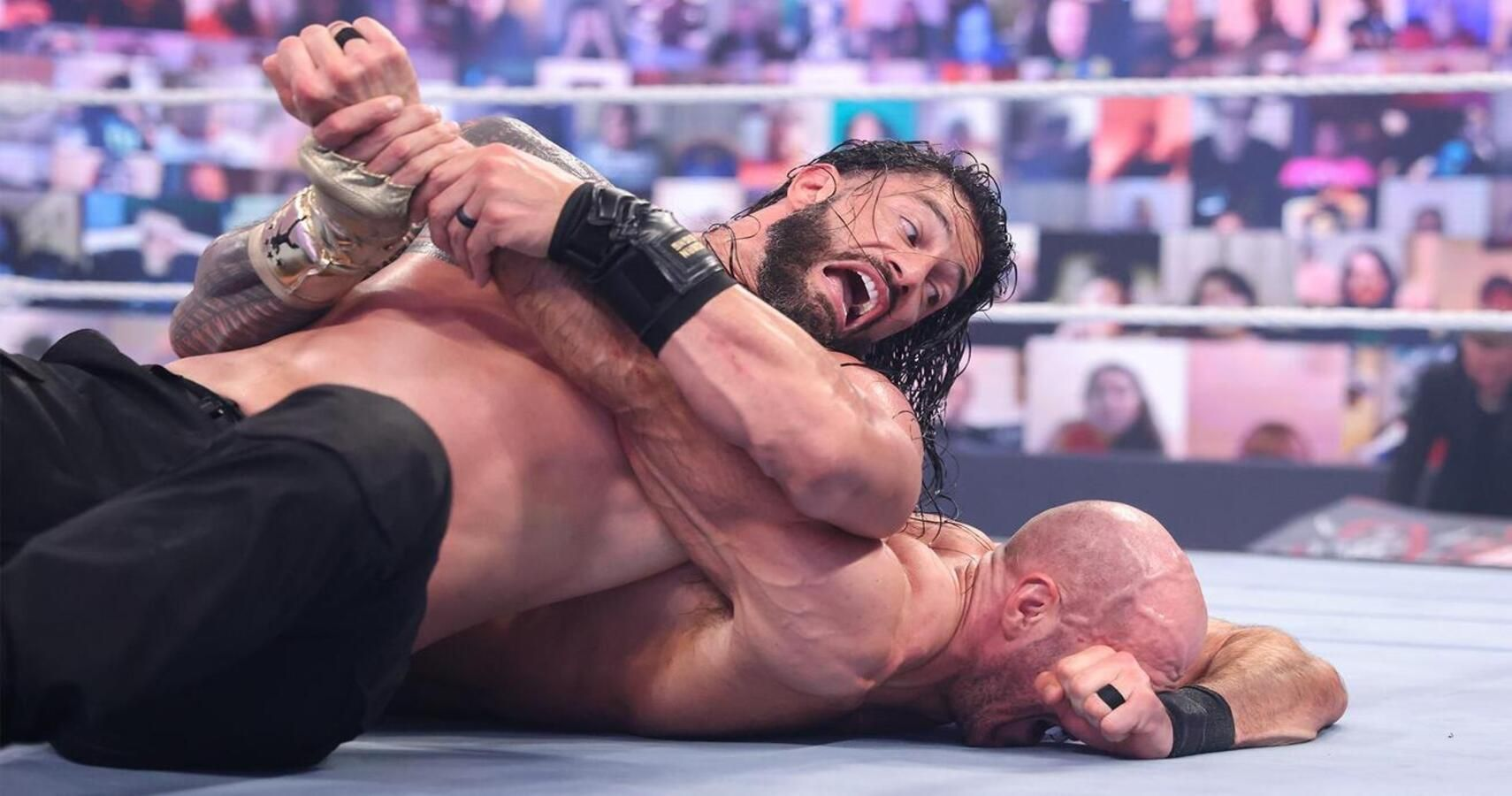 Cesaro Comments On WrestleMania Backlash Defeat, Roman Reigns Responds
