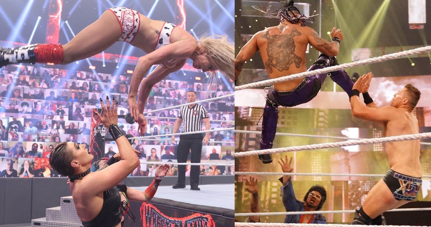 Hidden Details Most Fans Missed About WWE WrestleMania Backlash 2021