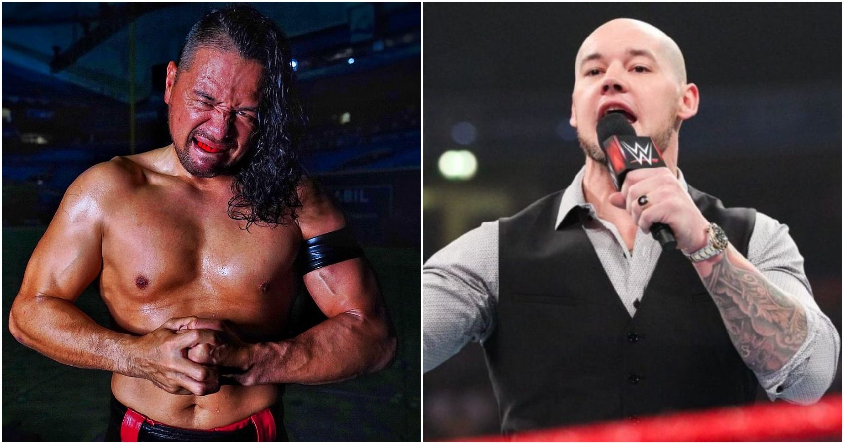WWE's Shinsuke Nakamura Vs. Baron Corbin Feud Is 50/50 Booking At Its Worst
