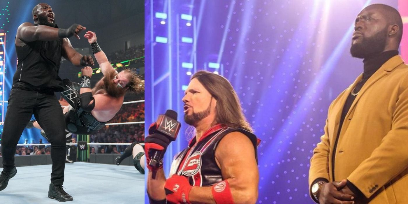 Omos: How WWE's Future Is In Its Largest Wrestler | TheSportster