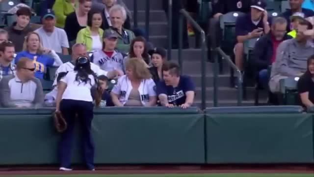 Sports Fans' Craziest Catches In The Stands